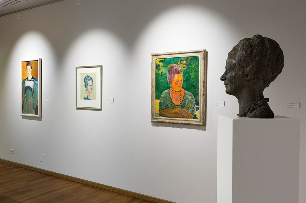 Exhibition space dedicated to Anna Amiet, the wife and life companion of the artist (photo: Markus Beyeler)