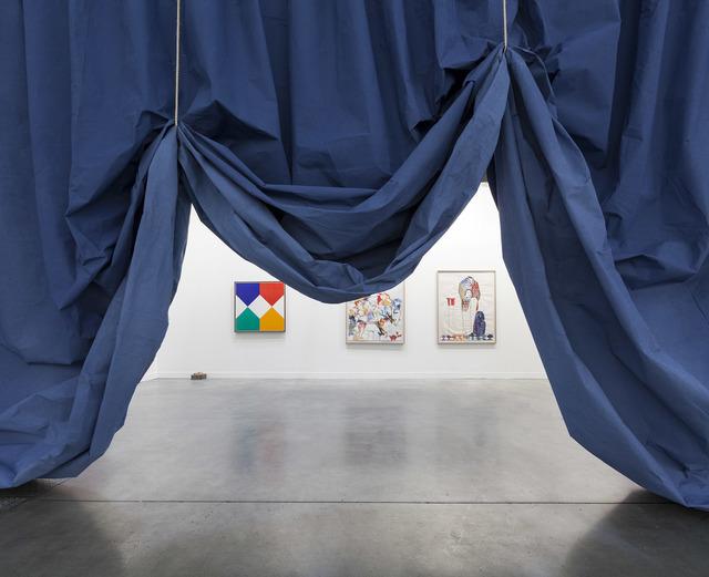 , 'Curtain, Blue,' 2015, Pilar Corrias Gallery