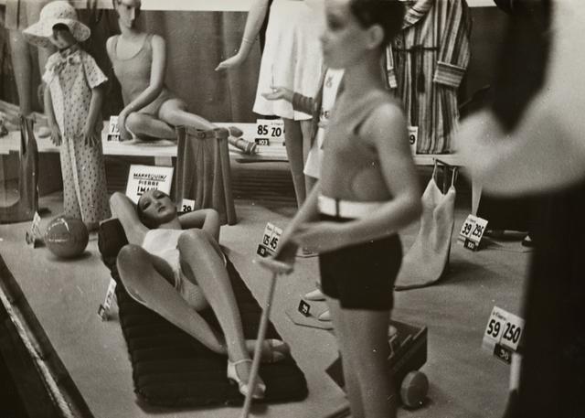 , 'Mannequins dans une vitrine (Mannequins in a shop window),' 1930, Jeu de Paume
