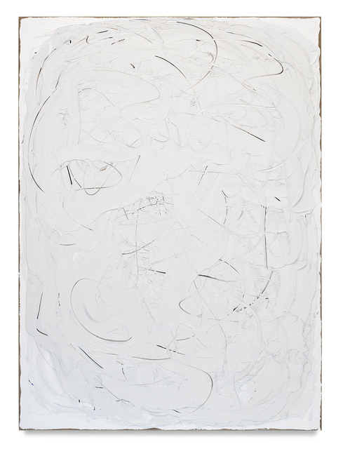 , 'Folding White,' 2017, Miles McEnery Gallery