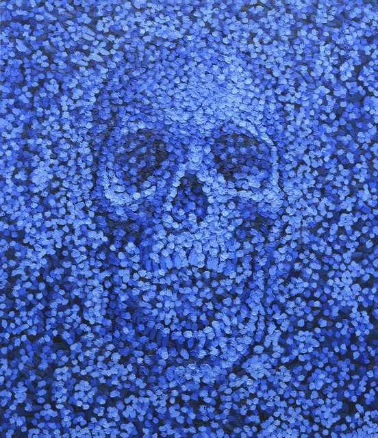 ", '""Blue Dream"",' 2017, Mugello Gallery"