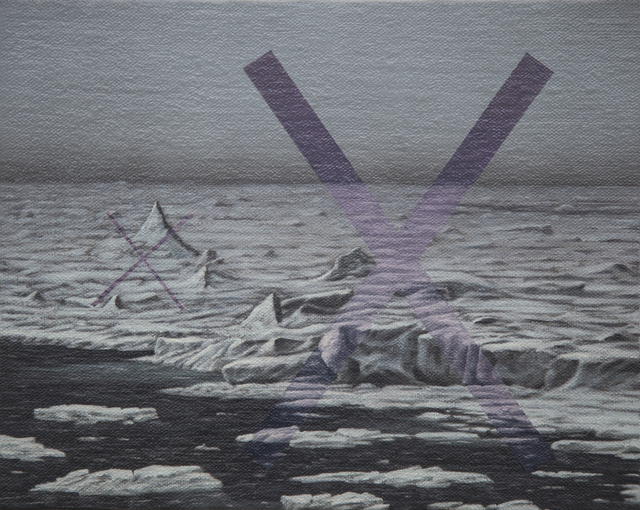 , 'pack ice edge violet xX,' 2017, Ro2 Art