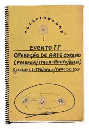 , 'Evento 77 - Operação de Arte Correio,' 1977, Galeria Nara Roesler