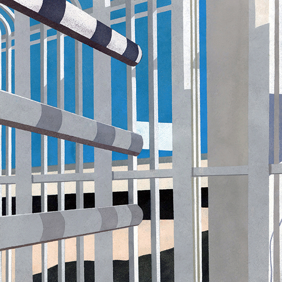 , 'Border Series #18,' 2015, Michael Warren Contemporary