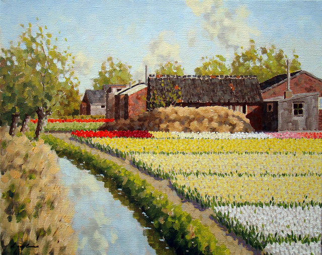 , 'Small canal at Hillegom,' ca. 2014, ArtBoutique