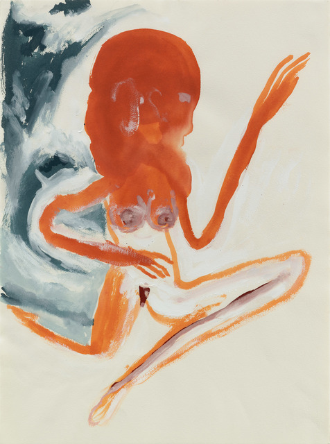 ", '""Untitled (Woman)"",' 1986, Michael Werner Gallery"