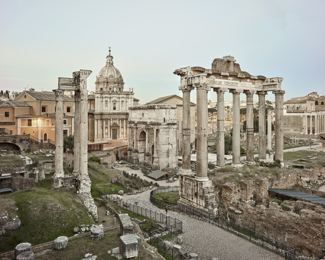 David Burdeny, 'Forum, Rome, Italy', 2016, CHROMA GALLERY