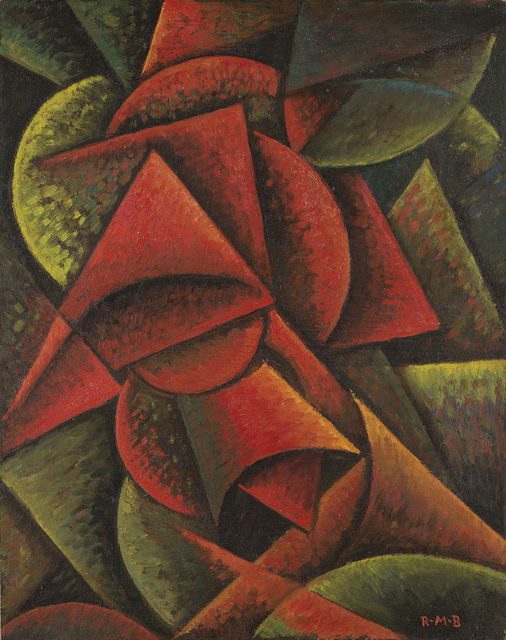 Roberto Marcello Baldessari, 'Dinamismo di forme (Forme dinamiche 10°)', 1915, Il Ponte