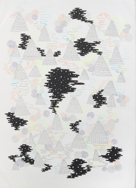Mike Perry, 'Pyramids', 2009, Julien's Auctions