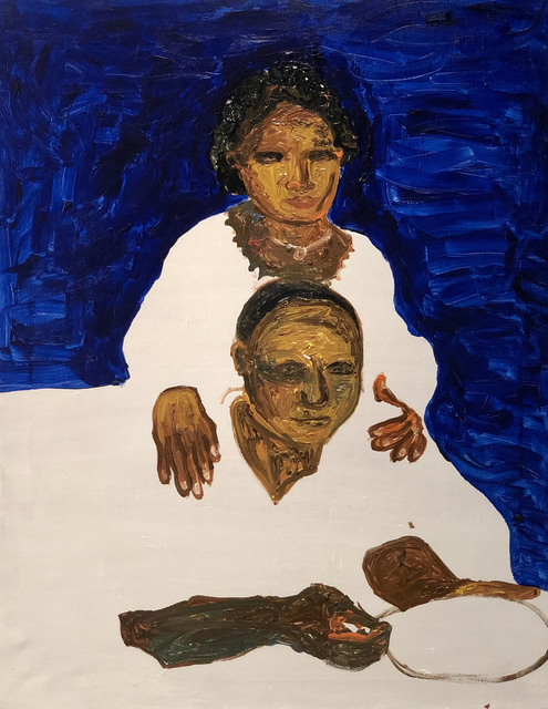 Gideon Appah, 'Portrait of an Older Couple', 2019, Gallery 1957