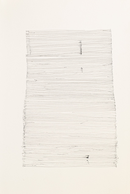 Elizabeth Youngblood, 'Girded', 2021, Drawing, Collage or other Work on Paper, Ink on paper, M Contemporary Art