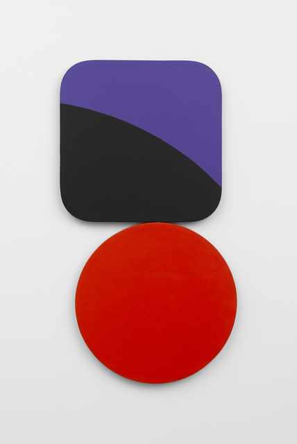 , 'Constellation: Square Circle Violet Black Red,' 1967, Richard Gray Gallery