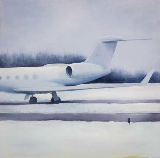 Trevor Young, 'Airplane in the Snow', 2013, Painting, Oil on canvas, Addison/Ripley Fine Art