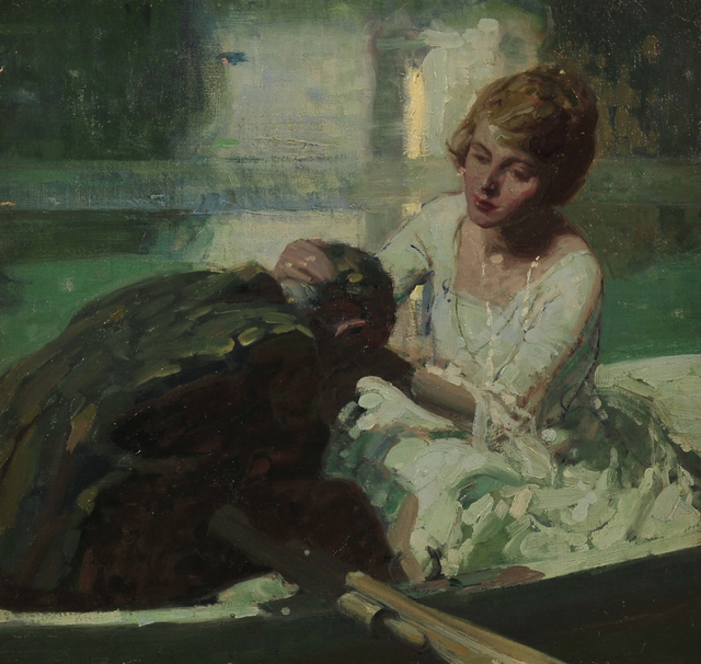 Dean Cornwell, 'The Torrent', 1918, The Illustrated Gallery
