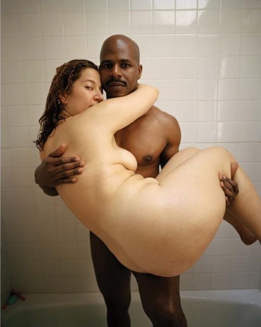 , 'Interracial couple,' 2001, Arario Gallery