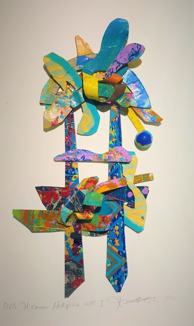 , 'Heaven Help Us All (I) ,' 2017, Marta Hewett Gallery
