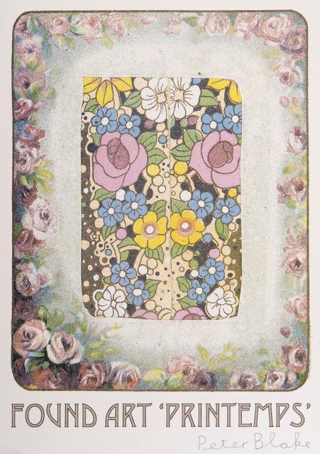 Peter Blake, 'Printemps', 2015, Tate Ward Auctions