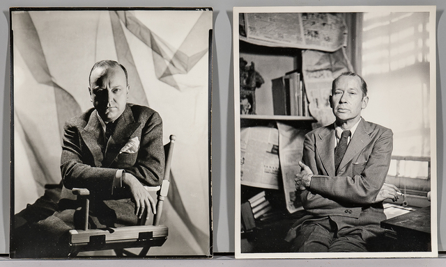 George Platt Lynes, 'Eight Portraits of Authors and Critics including Virgil Thomson', 1949, Skinner