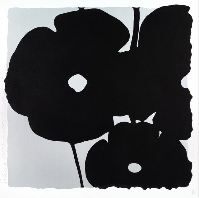 Donald Sultan, 'Silver and Black, Nov 6, 2015, ed. of 40', 2015, Tayloe Piggott Gallery