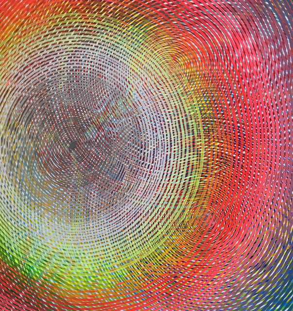 , 'Radiating Eye in Full Spectrum,' 2018, Galerie Droste