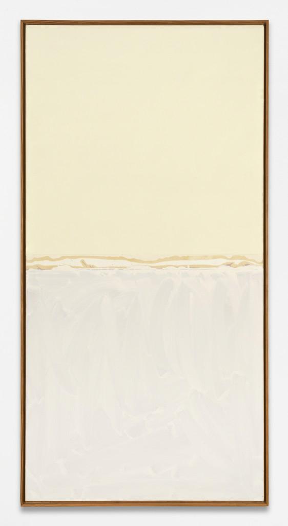 Ohne Titel, 1974, acrylic paint on canvas, 200 x 100 cm