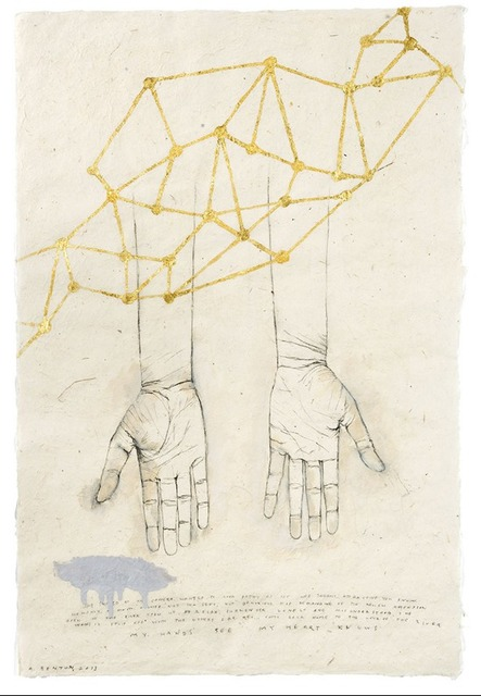 , 'Hands 3,' 2012, Sylvia White Gallery