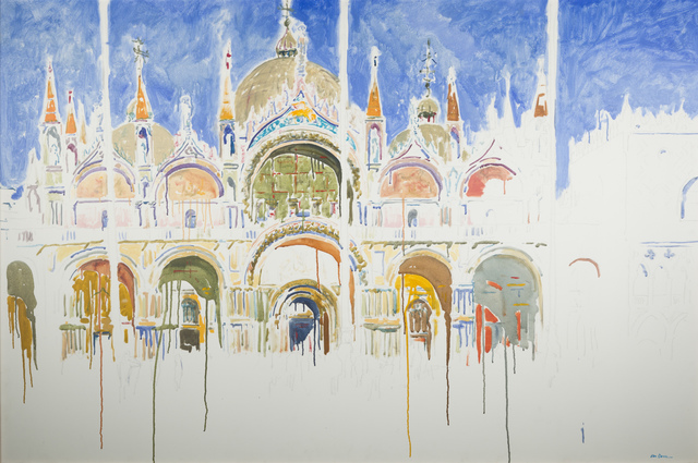 , 'Exterior of the Basilica,' 2009, Childs Gallery