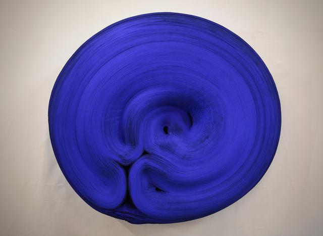 , 'JK1011 Ultramarine Blue,' 2018, C. Grimaldis Gallery