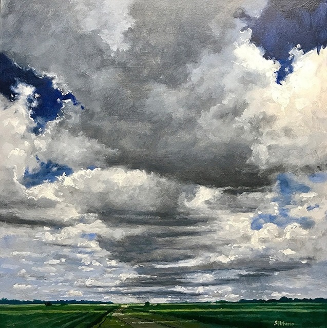 , 'Dark Clouds Above Cane Fields,' , LeMieux Galleries