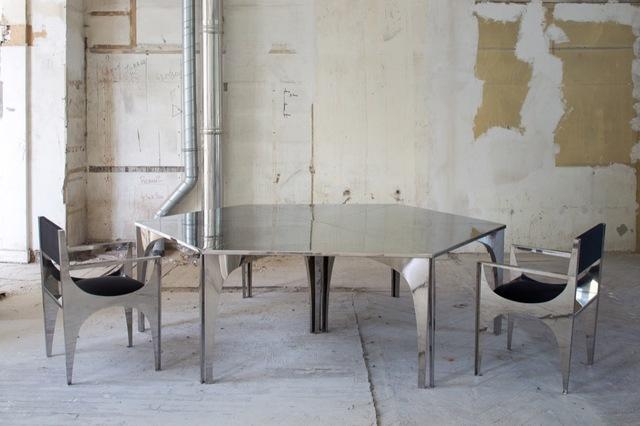 , 'Robert Hass Modular Table,' , Galerie Yves Gastou