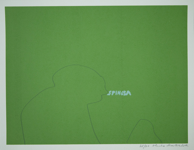 , 'Spinoza,' 2011, Aanant & Zoo