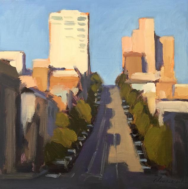 , 'Shadows on California (plein air),' 2018, STUDIO Gallery