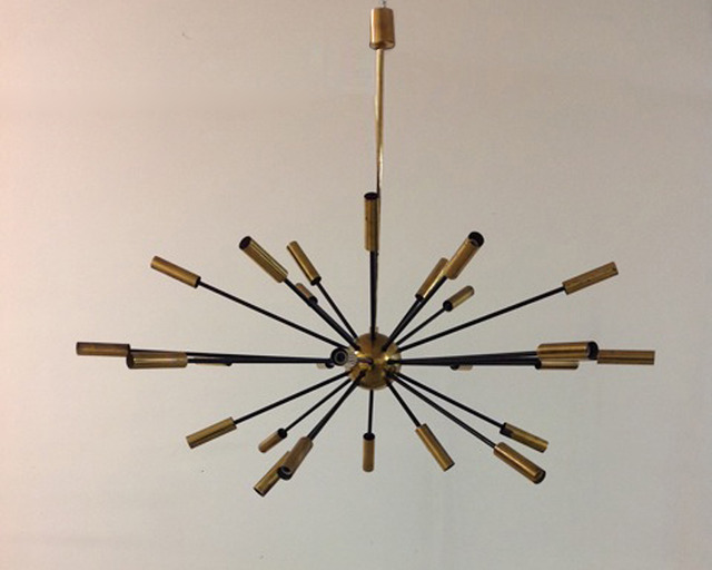 , 'Sputnik twenty-seven light pendant lamp,' 1955, NERO design gallery
