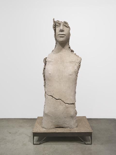 , 'Unfired Clay Torso,' 2015, Zeno X Gallery
