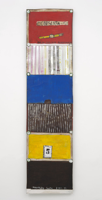 , 'Calendário,' 2014, Galeria Berenice Arvani