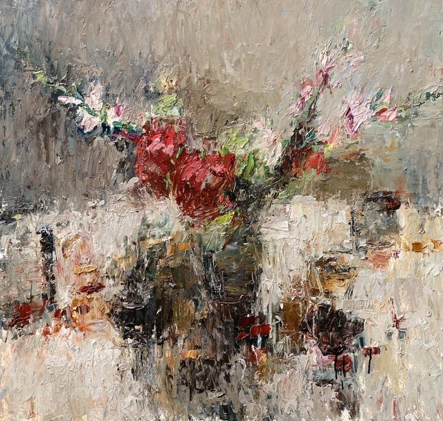, 'September Still Life (Hydrangea with Gladioli) I,' 2017, Thackeray Gallery
