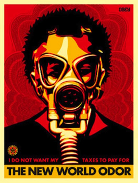 Shepard Fairey (OBEY), 'World Odor', 2004, Gregg Shienbaum Fine Art