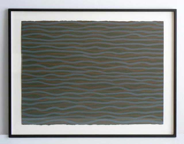 , 'Horizontal Brushstrokes (More or Less),' 2003, Rhona Hoffman Gallery