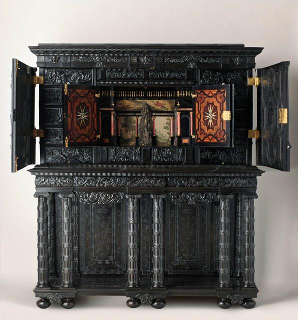 'Le Cabinet de l'Odyssée (The Odyssey Cabinet)', c. 1650, Château de Fontainebleau