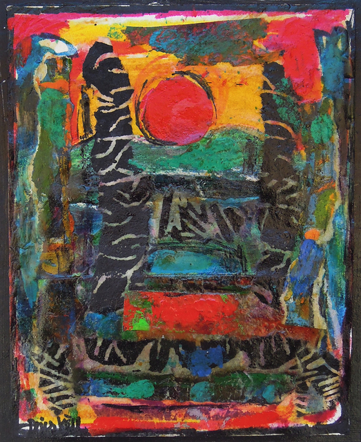 , 'Zebra Chair, Sunset,' 2011, Greenhut Galleries