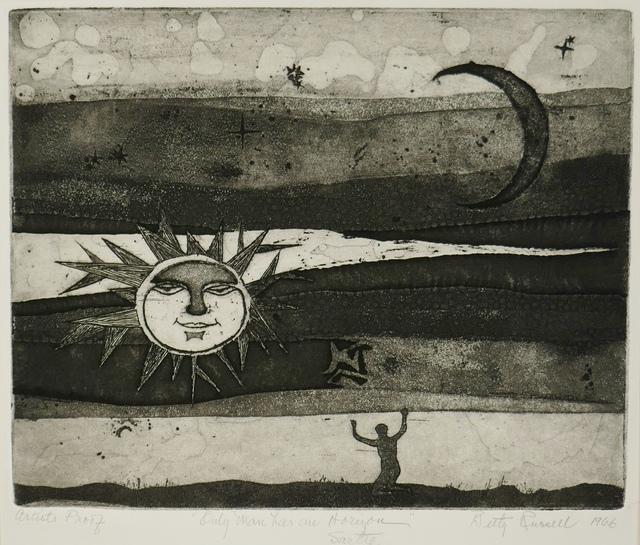 , 'Only Man has An Horizon - Sartre (Proof),' 1966, Daniel Craig Gallery