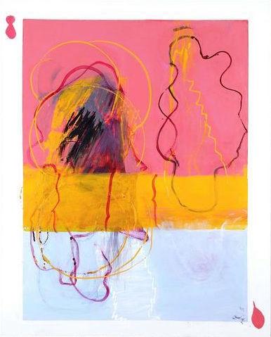 Tsuruko Yamazaki, 'Oil on canvas', 2009, HUNDERTMARKartFAIR