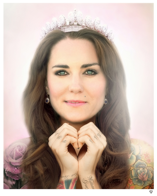 , 'Kate Middleton,' 2014, Reem Gallery