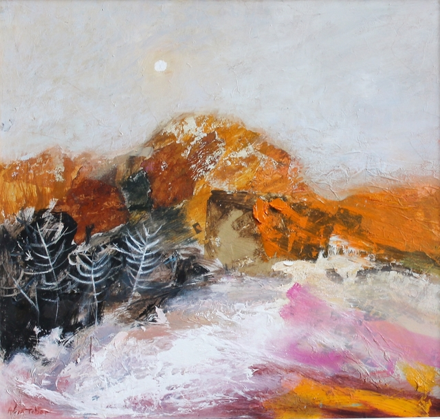 Helen Tabor, 'The last of the snow', Castlegate House Gallery