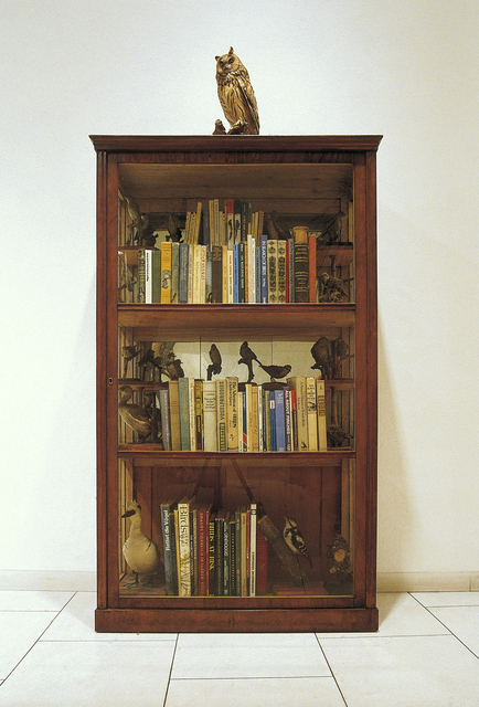 , 'Bookcase for the Practical Ornithologist (for Rachel Carson),' 1993-1994, Georg Kargl Fine Arts