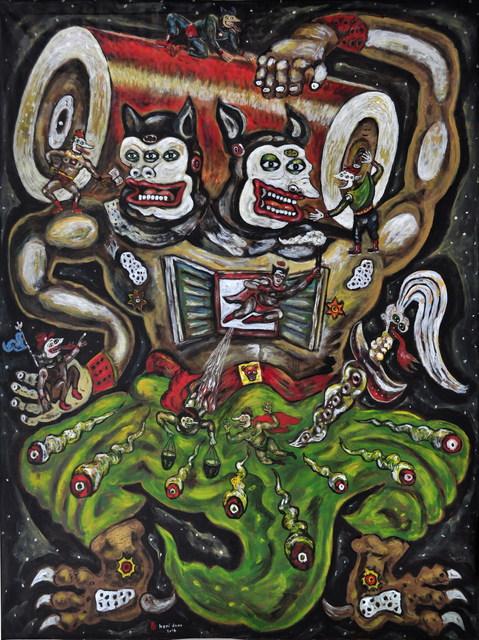 , 'Pembawa Baterai Superhero-Superhero,' 2017, Tang Contemporary Art