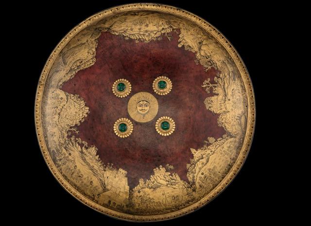 , 'Shield (Dhal) of Maharana Sangram Singh II,' About 1730 AD, Jehangir Nicholson Art Foundation