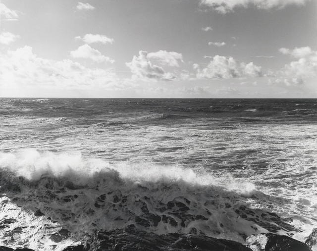 , 'South from the South Jetty, Clatsop County, Oregon, 1990,' 1990, Lee Gallery