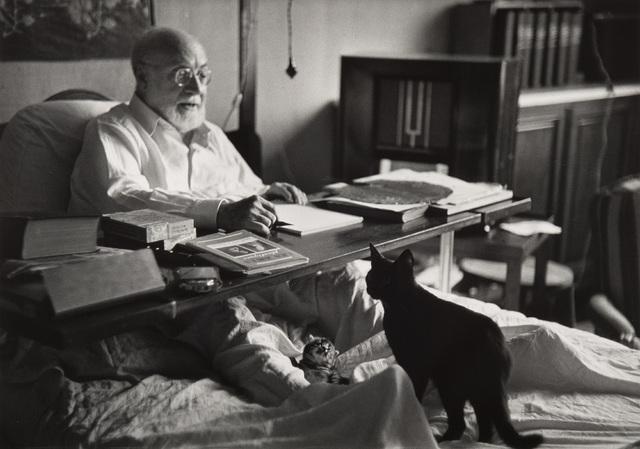Robert Capa, 'Henri Matisse at Cimiez (Nice)', 1949, Phillips