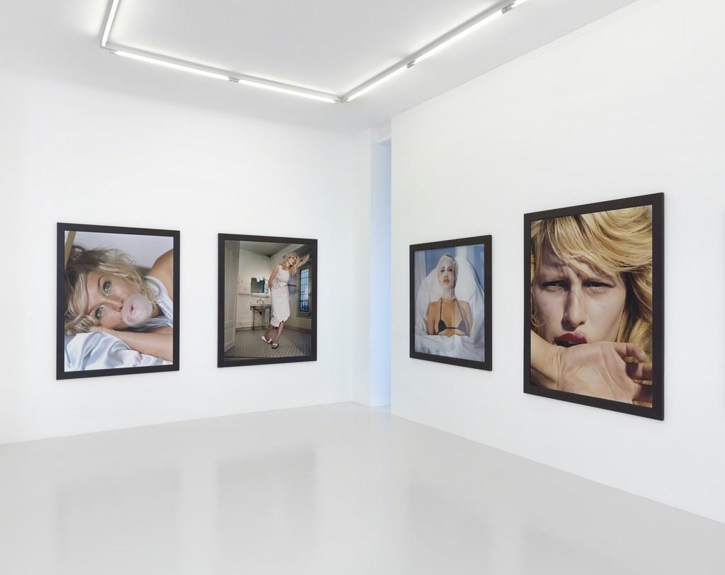 Exhibition view, Bettina Rheims, 2018, Xippas, Geneva, Switzerland. ©Annik Wetter